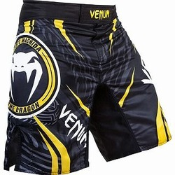 Fightshort Lyoto Machida Ryujin Black Yellow 1