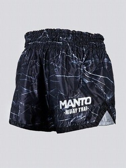 MANTO fightshorts MUAY THAI BLACK 3