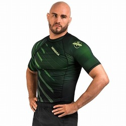 Metaru Rash Guard SS green1