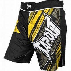 Performance Fight Shorts Yellow 1