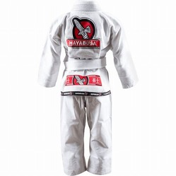 Yuushi Youth Jiu Jitsu Gi white 3a