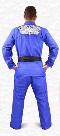 Kimono Royal Combat Extra Comp Blue2
