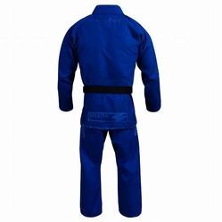 Stealth Pearl Weave Jiu Jitsu Gi blue 2a