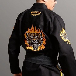 Fire Tiger BJJ Gi black2
