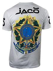 JACO Tシャツ Brazil Jiu-Jitsu 白