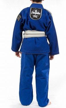 Kids Jiu Jitsu Gi Discipline Blue 4
