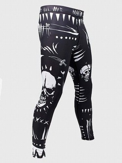 grappling tights VOODOO black 1
