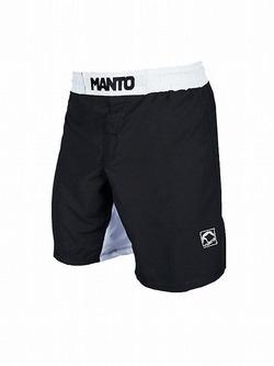 fight shorts EMBLEM blackwhite 1