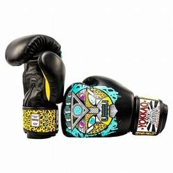 APEX Leopard Muay Thai Boxing Gloves 4