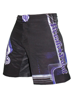 Progression Black Purple Shorts 1