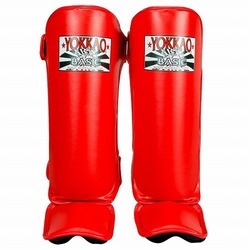 YOKKAO Red BASIC Shin Guards 1