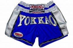 YOKKAO Airtech Carbon Electric Blue shorts 1