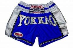 YOKKAO Airtech Carbon Electric Blue shorts 1