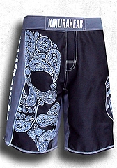 Combat Shorts-Cross Bones(black)1