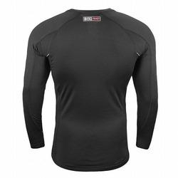 X-Train Compression T-shirt - Long Sleeves bkack3