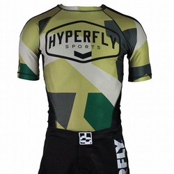 Sports Camo Rash Guard SS 1