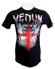 VENUM Tシャツ England Flag 黒