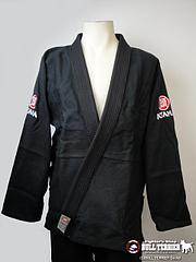 ATAMA 柔術衣 ウルトラライト シングル 黒