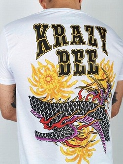 tshirt_KRAZY_BEE_DRAGON_white2