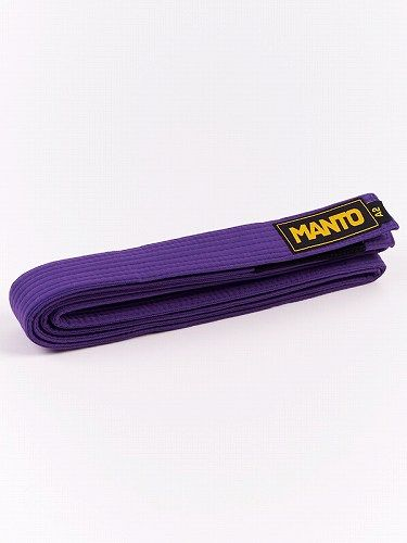 belt BJJ LOGOTYPE purple 2