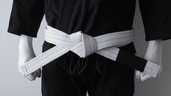 BLACK SAINT white Belt 1