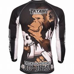 Tatami The Thinker Jiu-Jitsu Monkey Longsleeve Rashguard4