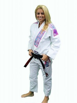 Women's Gi Dragonfly White 1