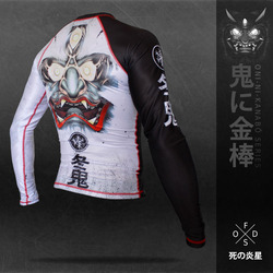冬鬼 The winter demon RASHGUARD 1
