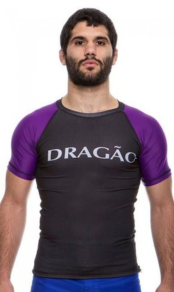 Rash Guard Maori purple1