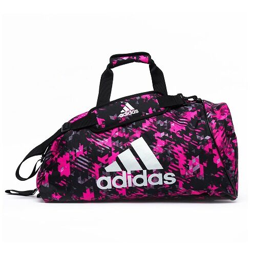 14adiACC058 - 2IN1 BAG - PINK Camo - FRONT