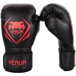 Contender Boxing Gloves blackred1