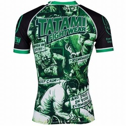 The Zombie Hunter Rash Guard 2