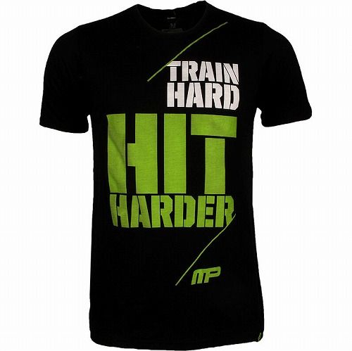 Hard Hit Harder Shirt BK1