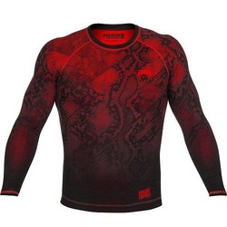 Fusion Compression T-shirt - Long Sleeves red 1
