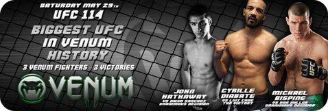 VENUM UFC114