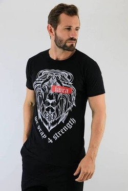 Camiseta Royal black 1