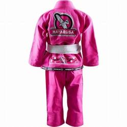 Yuushi Youth Jiu Jitsu Gi pink 3a