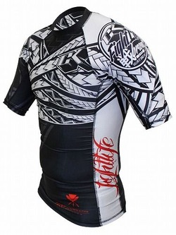 Tribal Rashguard Short3