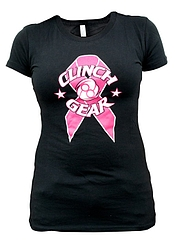 Tee Breast Ladies BK Front