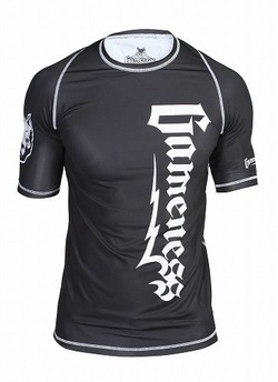 Gameness Logo Rash Guard 1