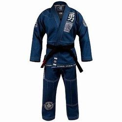 Goorudo 3 Gold Weave Jiu Jitsu Gi blue 1a