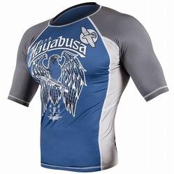 Showdown Rashguard Shortsleeve Blue-gray 1a