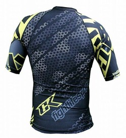 Droid yelllow rashguard 4