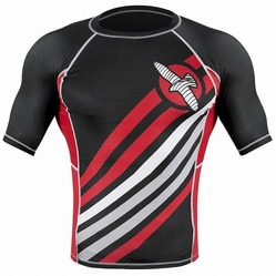 Elevate Rashguard Shortsleeve black 2a