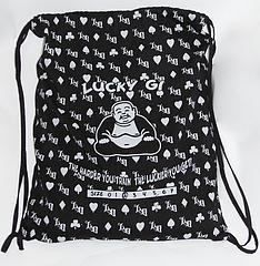 lucky gi bag black