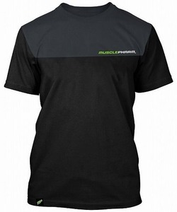 MusclePharm Two Tone T-shirt black 1