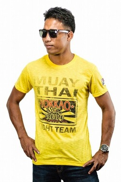 Yokkao TShirt Fight Team Yellow 1