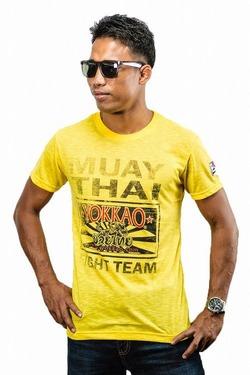 Yokkao TShirt Fight Team Yellow 1