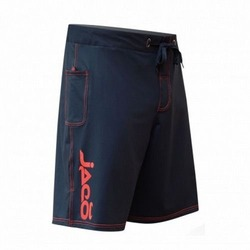 Jaco Hybrid Training Shorts BK Red1