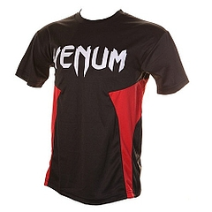 Jam Dry Fit Tee Black Red 1